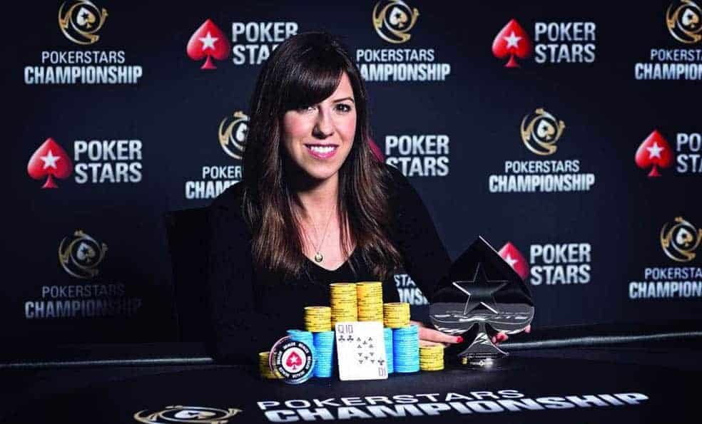 How Kristen Bicknell managed to become number 13 on the world leaderboard
